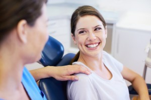 Periodontist Worcester and patient